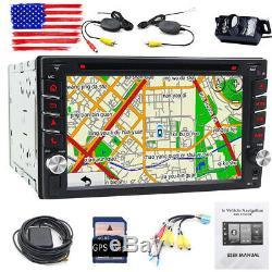 6.2inch Car Navigation Gps Radio Lecteur DVD Double 2din Stéréo Bt Tactile Au Tableau De Bord