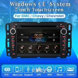 7.0 Voiture Stéréo Radio Gps Navi Pour Gmc Chevrolet Chevy Tahoe Yukon Acadia Sierra