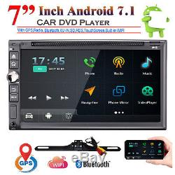 7 '' Android7.1 4g Wifi Double 2din Autoradio Stéréo Lecteur DVD Gps Wifi + Caméra