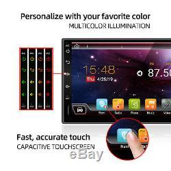 7 '' Android 10.0 Double 2 Din Gps Voiture Stéréo Head Unit Fm / Am Lecteur Wifi Dab + 32g