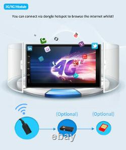 7 Android 10.0 Double Din Car Stereo Head Unit Gps Nav Dab+ Carplay Wi-fi 2.5d