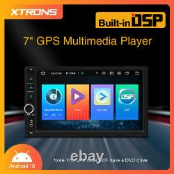 7 Android 10.0 Quad Core Double Din Gps Voiture Stereo Radio 2gb+32gb Voiture Auto Play