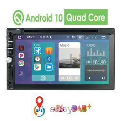 7'' Android 10.0 Wifi Double 2din Car Radio Stereo Gps Navi CD DVD Player Swc