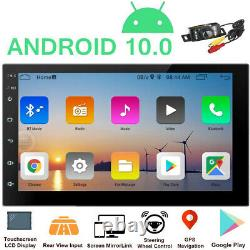 7 Android 10 Car Radio Gps Navi Mp5 Player Double 2din Wifi Quad Core Stereo Bt