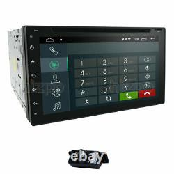 7'' Android 10 Wifi Double 2din Voiture Radio Stereo Gps Navi Lecteur CD DVD Swc Dsp