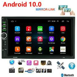 7'' Android 10 Wifi Double 2din Voiture Radio Stereo Gps Navi Multimedia Player