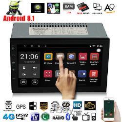 7 '' Android 8.1 4g Wifi Double 2din Voiture Radio Stéréo Gps Navi Lecteur Multimédia