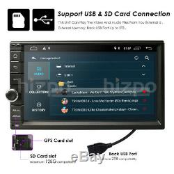 7 '' Android 9.0 4g Wifi Double 2din Autoradio Stéréo Multimédia Gps Navi Bt Dab +