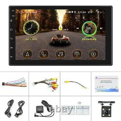 7 Android 9.1 Voiture Stereo Gps Navigation Radio Lecteur Double Din Wifi Caméra Usb