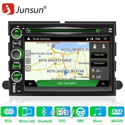 7 Car Navi Gps Radio Pour Ford F-150 Bord Freestar Mustang Lecteur DVD Bluetooth