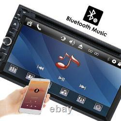 7 Double 2din Voiture Lecteur De CD DVD Gps Navigation Radio Stereo Bluetooth Caméra