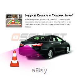7 Gps Navi Android 9.0 4core Double 2din Car Auto Stéréo Wifi 4g Bt Radio + Cam