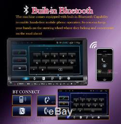 7 Lecteur DVD CD DVD Stéréo Double Voiture Lecteur DVD Stéréo 2 Din Radio Bluetooth Radio