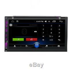 7 Lecteur De DVD Stéréo Android 6.0 Double Radio Double Radio Gps Gps Obd Wifi Dab + Cam