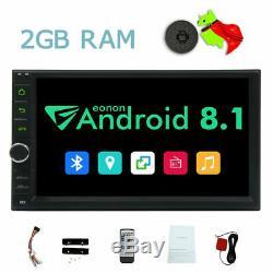 7 Pouces Android 4g Wifi Double 2din Lecteur DVD De Voiture Radio Stéréo Navigation Gps