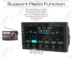 7 Pouces Smart Android 8.1 Wifi Aux Double Din Lecteur Stéréo Radio Voiture Caméra Gps +