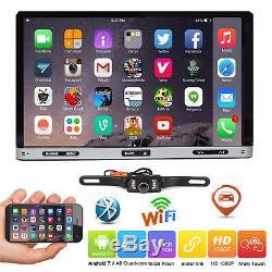 7 Smart Android 7.1 4g Wifi Double 2din Autoradio Stéréo Lecteur DVD Gps + Caméra