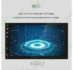 7 Smart Android 8.1 4g Wifi Double 2din Voiture Radio Stéréo Mp5 Caméra Gps Lecteur