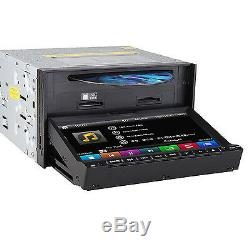 7 Touch Double 2din Voiture DVD CD Radio Stéréo Lecteur Gps Navigation Sd Bt Caméra