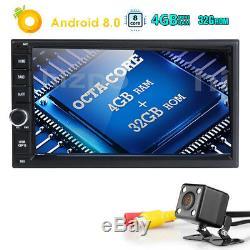 7 Voitures Android 8.0 Radio Stéréo Double 2din 4 Go De Ram Gps Lecteur Mp3 Octa-core Dab