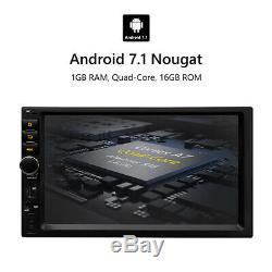 7double Din Voiture Radio Stéréo Android Universel Mp3 Eonon Auxin Usb Gps Nav