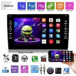 8 Lecteur De Voiture Android 9.1 Stereo Gps Navi Mp5 Double 2 Din Wifi Quad Core Radio
