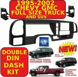 95-02 Gm Camion & Suv Double Din Voiture Radio Stéréo Installation Dash Kit Dp-3003