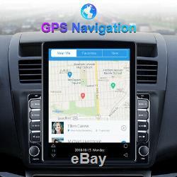 9.7 Android 8.1 Double 2din Car Radio Gps Navi Écran Tactile Usb Lecteur App Wifi
