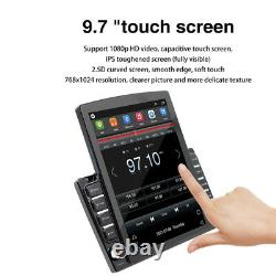 9.7 Double Din Voiture Stereo Vertical Écran Voiture Radio Android 9.1 Gps Navi Wifi