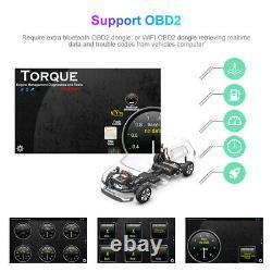 9,7 Pouces Double 2 Din Car Stereo Radio Android Gps Wifi À Écran Tactile Fm