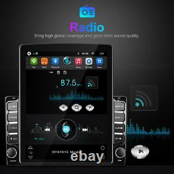 9.7android Voiture Stereo Radio Gps Wifi Écran Tactile Fm Lecteur Double 2din +camera