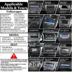 9 Android 10.0 Voiture Double 2din Radio Stereo Gps Nav Pour Vw Passat B6 Jetta Golf