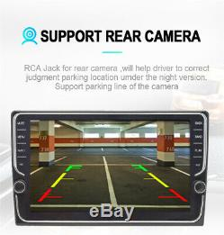 9 Car Double 2din Gps Radio Android 8.1 Lecteur Rom De 16 Go Bouton Bouton Wifi Obd Tv