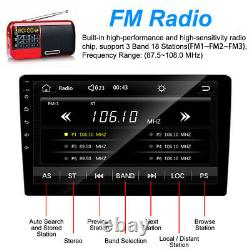 9 Voiture Radio Apple/android Carplay Bluetooth Voiture Stereo Touch Écran Double 2din