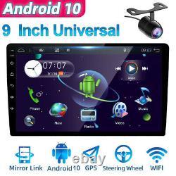 9inch Ips Android 10 Double 2din Voiture Stereo Gps Navi Unité De Tête Fm/am 4g Wifi Obd