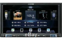 Alpine Ilx-207 2 Din Android D'apple Carplay Car Stereo Récepteur -dommages Emballage