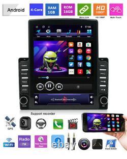 Android9.1 Voiture Stéréo Gps Navigation Radio Player Double Din Wifi 9.7 Unité De Tête