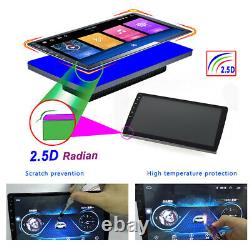 Android 10.0 10.1 Double 2 Din Voiture Stereo Radio Gps Wifi Bt 2+ 32 Go Lecteur Mp5