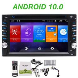 Android 10.0 2 Go Double 2din 6.2inch Indash Voiture DVD Player Radio Stéréo Gps Navi