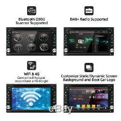 Android 10.0 Double 2din Lecteur DVD De Voiture Radio Stereo Head Unité Gps Nav Dab + Wifi