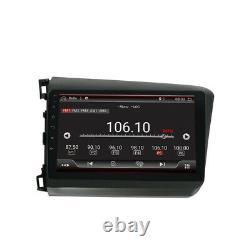 Android 10.0 Radio Radio Multimédia Auto Stéréo Gps Pour Honda CIVIC 2012 -2015