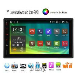 Android 10.0 Voiture Stéréo Gps Navi Radio Player Double Din Wifi 7 Quad-core Dab+