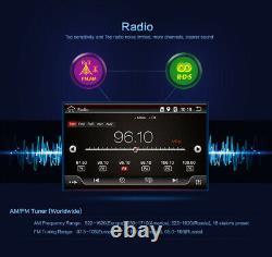 Android 10 7 Voiture Radio Stereo Gps Pour Universal Double 2 Din Unité De Tête Bt Fm Am