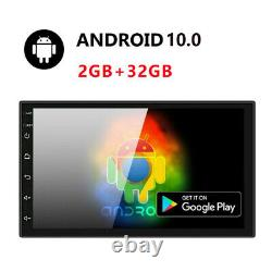 Android 10 Voiture Radio Double 2din Voiture Stereo Touch Écran Bluetooth Gps Navi 7in