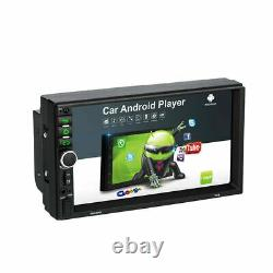 Android 10 Voiture Stereo Gps Navigation Radio Lecteur Mp5 Double 2din Wifi 7 Pouces