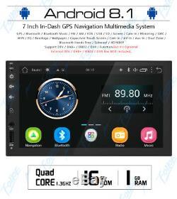 Android 7 Pouces 8.1double 2 Din Indash Voiture Non DVD Radio Stéréo Lecteur Wifi Sd Gps