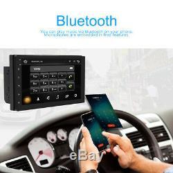 Android 8.1 Double 2din 7in Hd Radio Quad Core Gps Wifi Voiture Stéréo Lecteur Fm Radio Fm