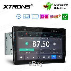 Android 9.0 10.1 Rotatif Octa Double Core 2 Din Autoradio DVD Radio Gps 4k