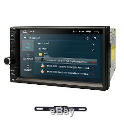 Android 9.0 Double 2din Car Stereo Radio Gps Navi Ram Wifi 4g Dab + 2 Go 16g Caméra