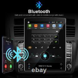 Android 9.0 Voiture Stereo Gps Radio Lecteur Double Din Wifi 9.7 Chef D'unité + Caméra
